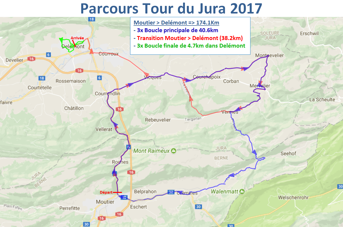 TDJ2017 CarteParcoursLegende